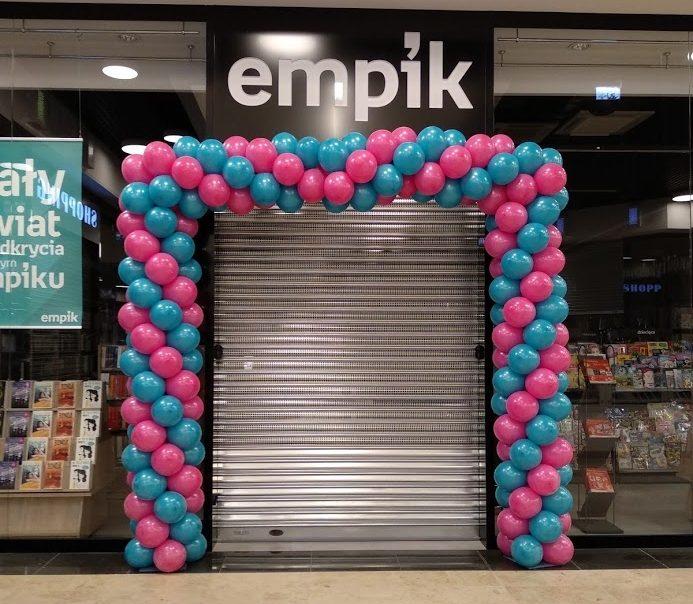 Brama z balonów dla Empiku w Świebodzinie